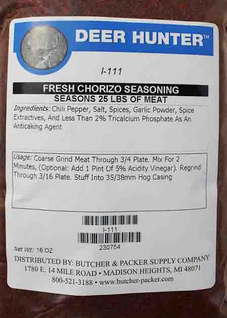Chorizo Mexican Sausage Seasoning