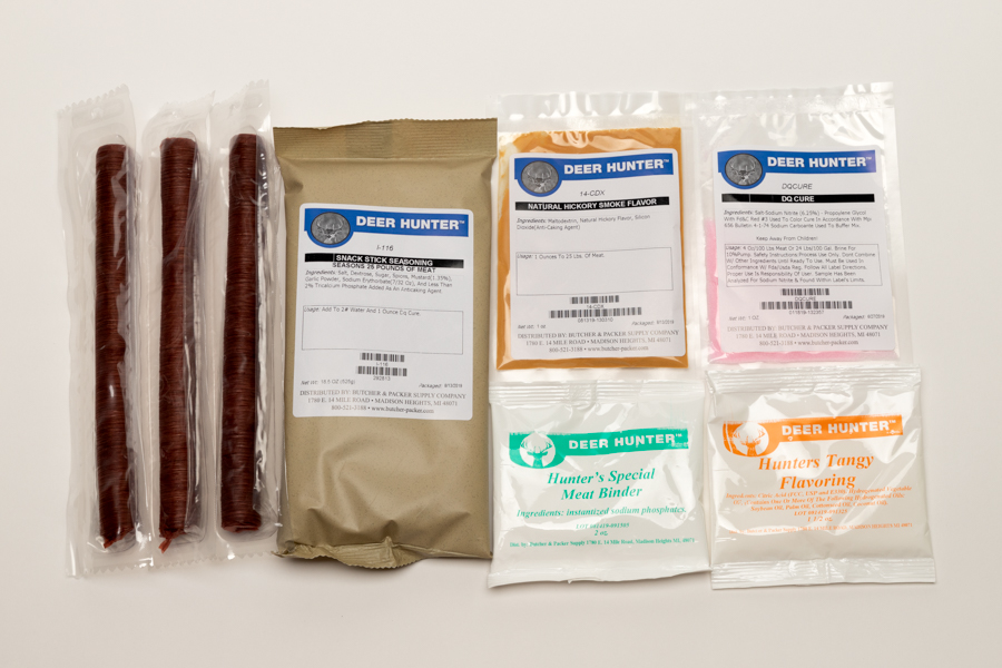 Venison Snack Stick Kit (25 lbs.)