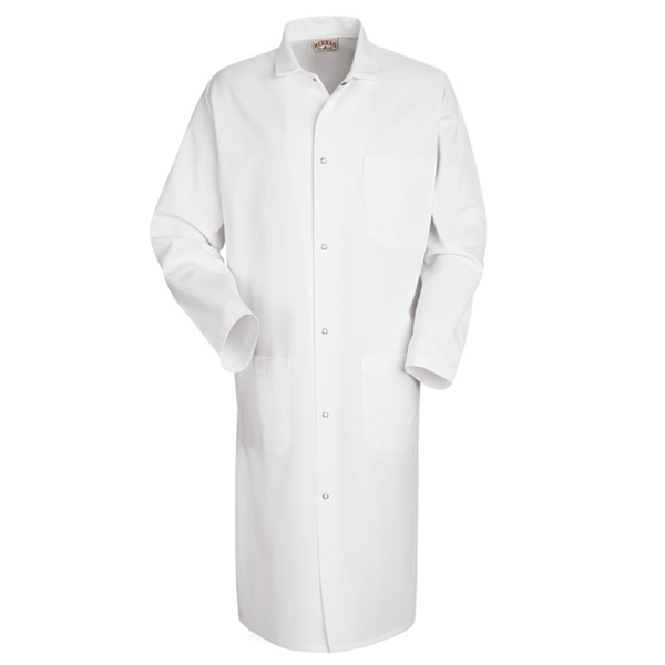 Large White Butcher Frock