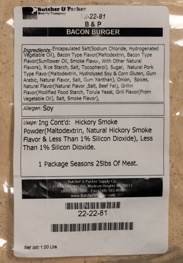 Bacon Burger Seasoning