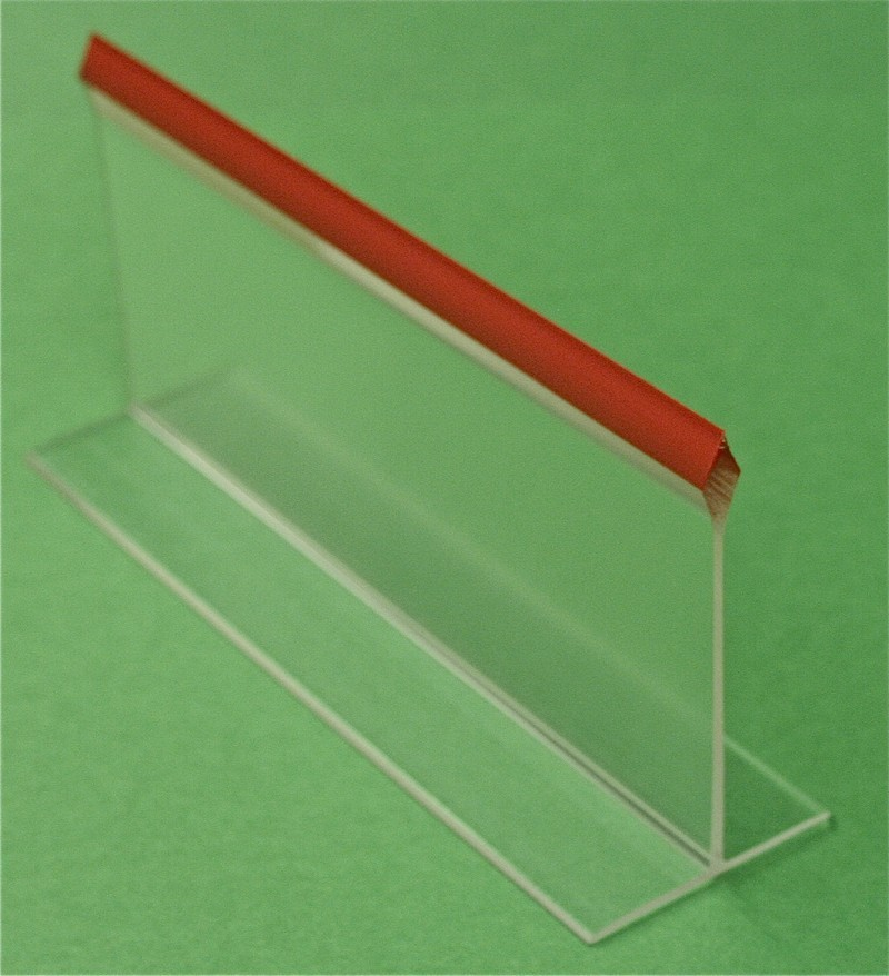 3x30 Clear Red Tip Divider