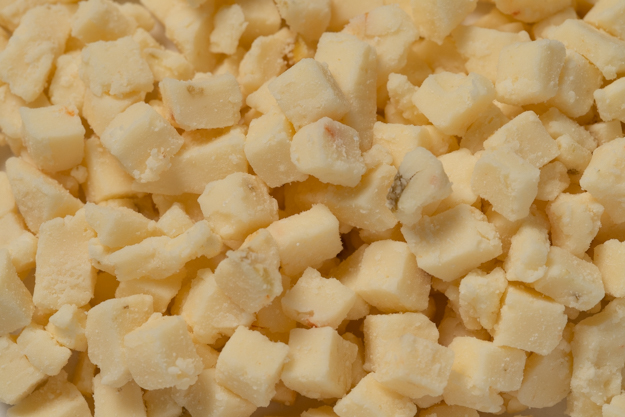 High Temp Diced Lava Jack Cheese - 10 lbs.