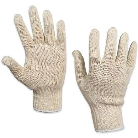 Poly/Cotton Knit Gloves(12 Pair)