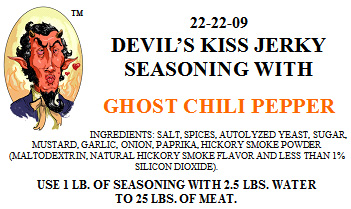 Devil's Kiss Jerky