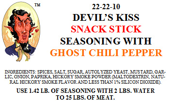 Devil's Kiss Snack Stick