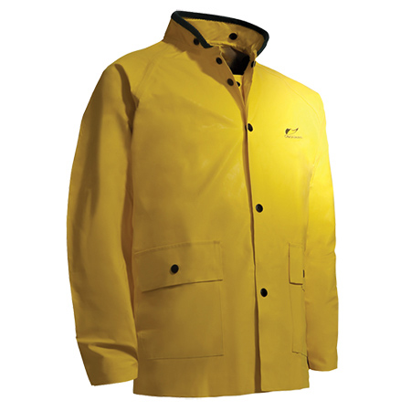 Small Yellow Neoprene Jacket