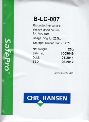 Meat Starter Culture with Bioprotectant B-LC 007